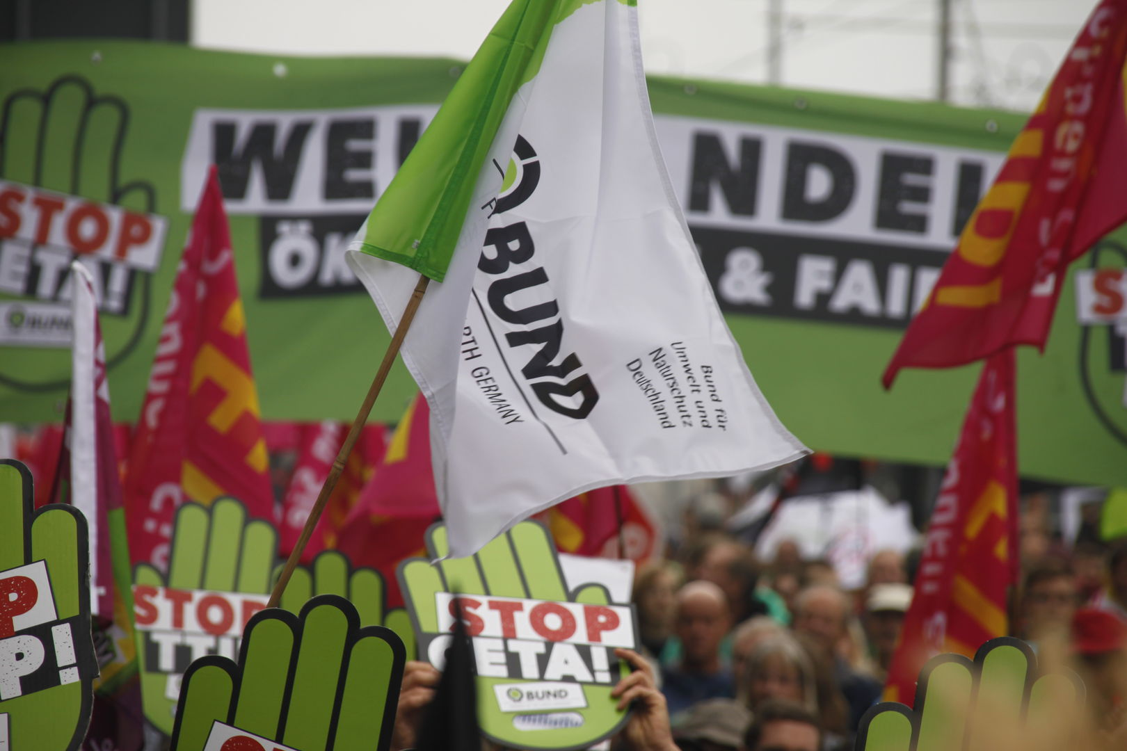 Stopp TTIP - Demo, Leipzig, 17. September 2016